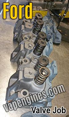 Ford cylinder head Valve Jobs