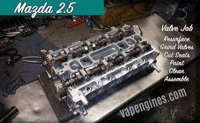 Mazda 2.5 Auto Engine Valve Job