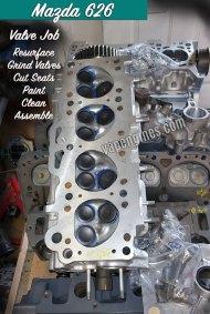Mazda 626 Valve Job Repair Shop in Los Angeles