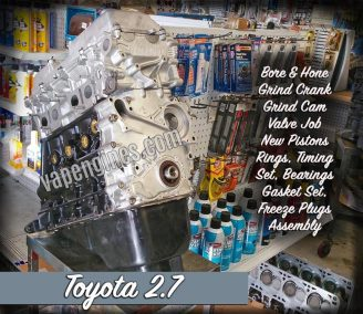 Toyota 2.7 Engine Rebuild Machine Shop