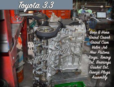 Toyota 3.3 3MZFE Engine Rebuild Shop