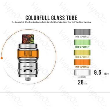 Vaporesso Cascade Glass 7ml VapeOz