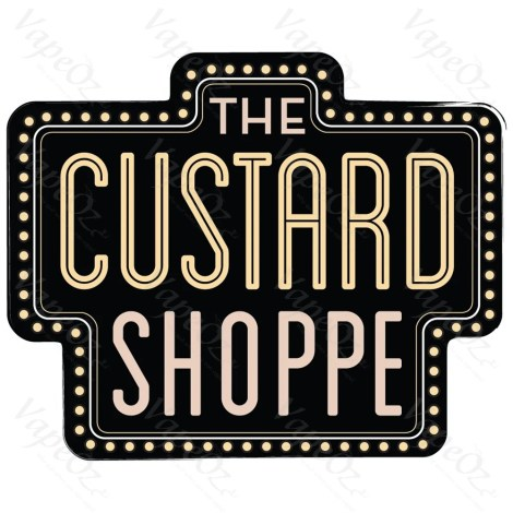 The Custard Shoppe Range Logo VapeOz