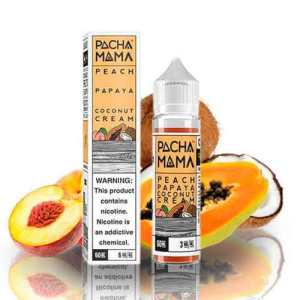 Peach Papaya Coconut Cream by Pachamama