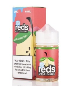 7 daze reds strawberry ICED vape juice