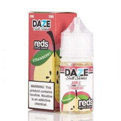 7 daze Salt reds strawberry vape juice
