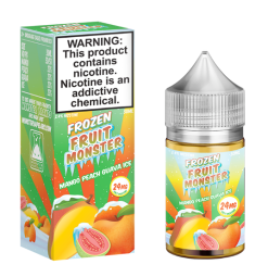 Frozen Fruit Monster salt mango peach guava ICE ejuice