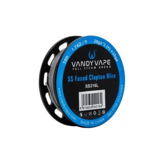 Vandy Vape Fused Clapton Wire SS16L