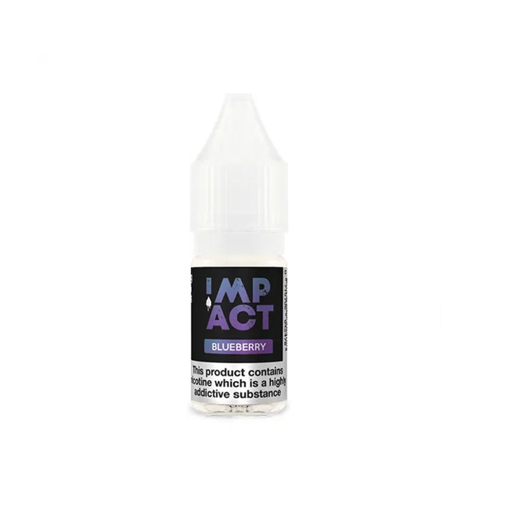 Blueberry 10ml By Impact E-Liquid.