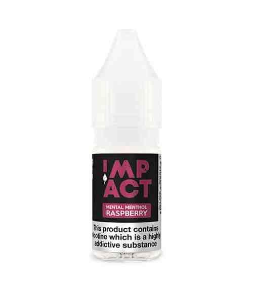 Mental Menthol Raspberry By Impact E-Liquid