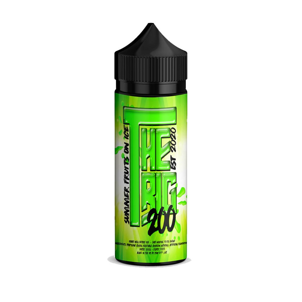 The Big 200 Summer Fruits On Ice E-liquid