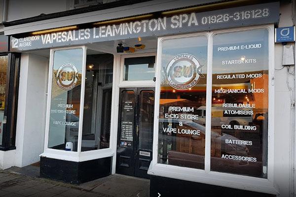 leamington spa vape shop