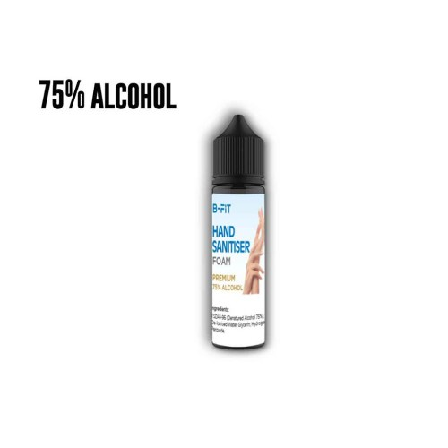 Hand Sanitiser Liquid -75% Alcohol - 60ml