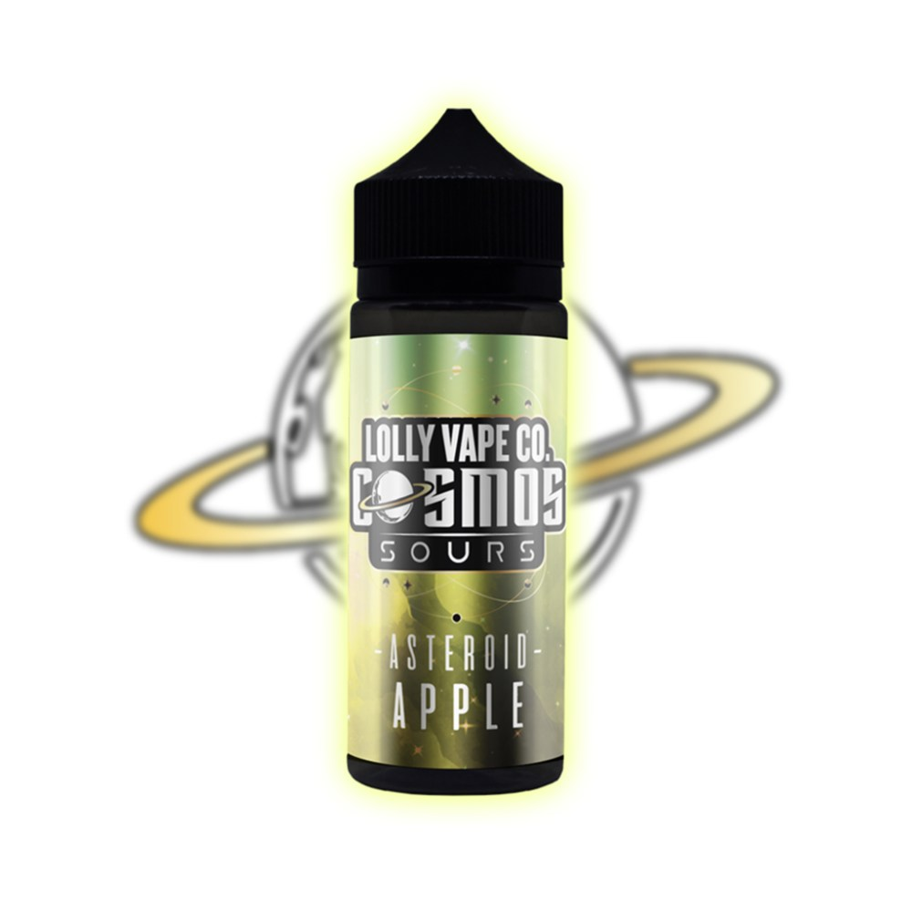 Lolly Vape Co Cosmos Sours - Asteroid Apple 100ml