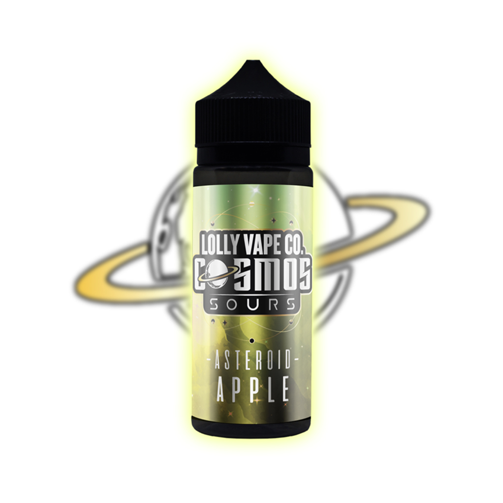 Lolly Vape Co Cosmos Sours – Asteroid Apple 100ml