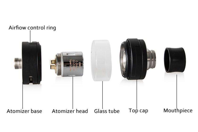 Eleaf ELLO S Atomizer Components