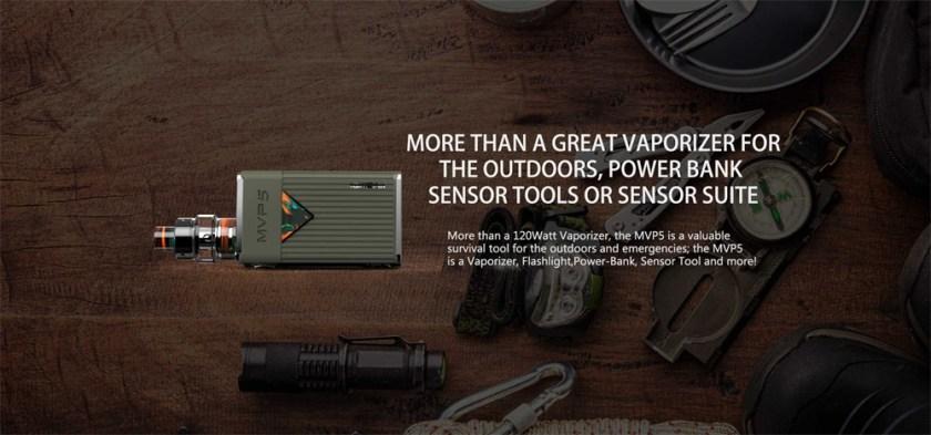 Innokin MVP5 Starter Kit 120W A Great Vaporizer