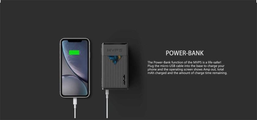 Innokin MVP5 Starter Kit 120W Power-Bank