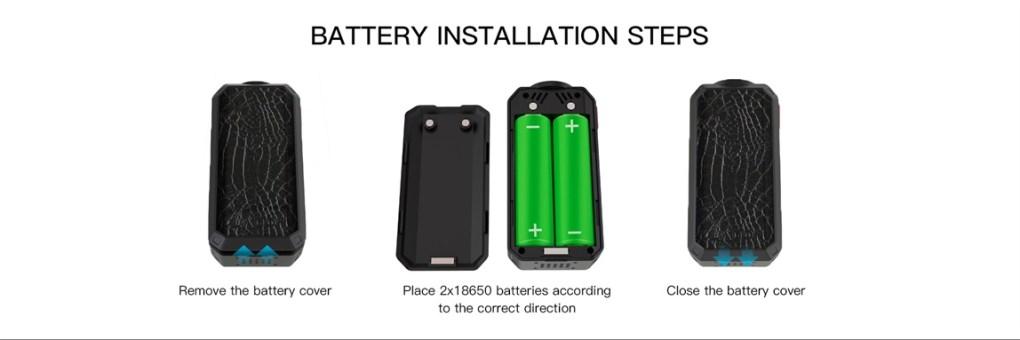 Ladon Mod Battery Installation