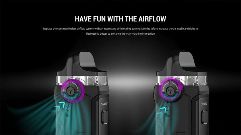 SMOK IPX 80 Airflow Adjustable