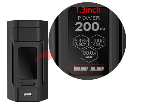 Wismec Reuleaux RX2 20700 Mod-1.3inch Large Display