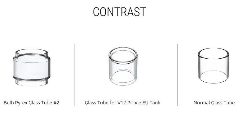 SMOK TFV12 Prince Tank glass tube
