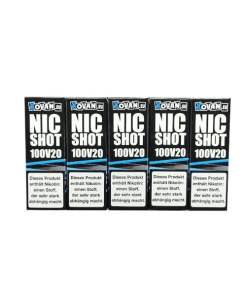 5er Packung Vovan Nikotin Shots 100VG in 20mg