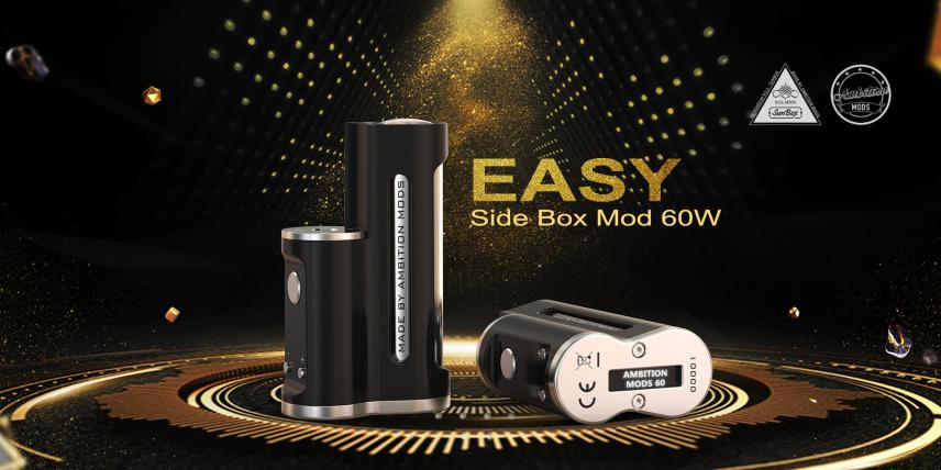 easy box mod 60w by ambition mods vape experts sunbox 8