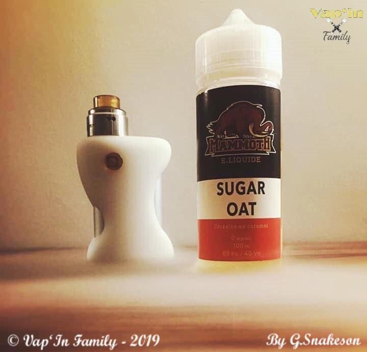 Sugar Oat - Mammoth E-Liquide - Vap