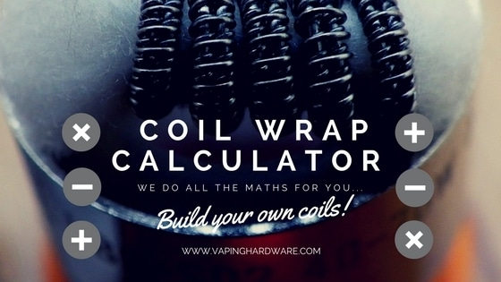 Coil wrap calculator build your very own coils vaping hardware keyboard keysfo Gallery
