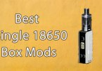 best single 18650 box mods