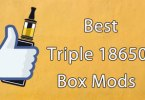 best triple 18650 box mod