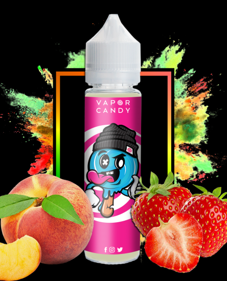 berry peach vape
