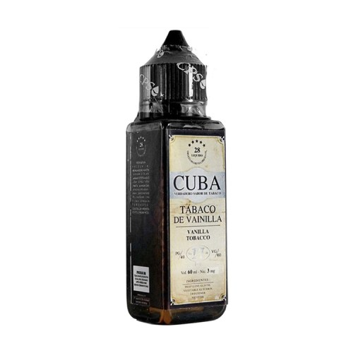 CUBA Tobacco De Vainilla Liquid By 28 Liquido