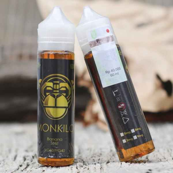Monkilo Banana Split Liquid Vapor