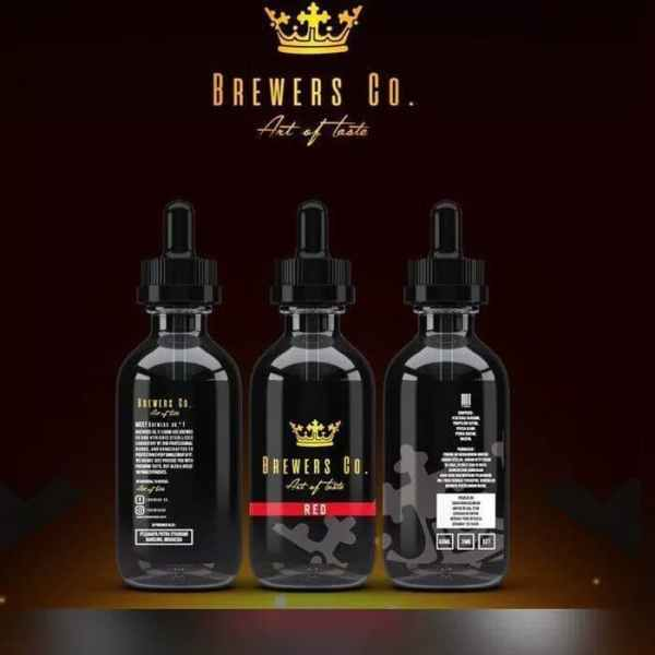 BREWERS CO RED 60ML 3MG LIQUID