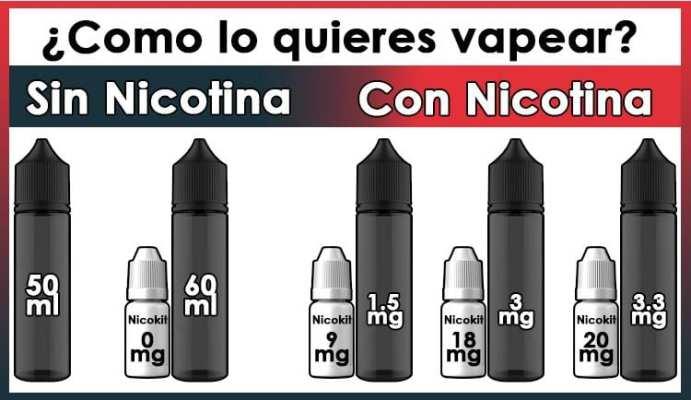 vapori nicotina de regalo
