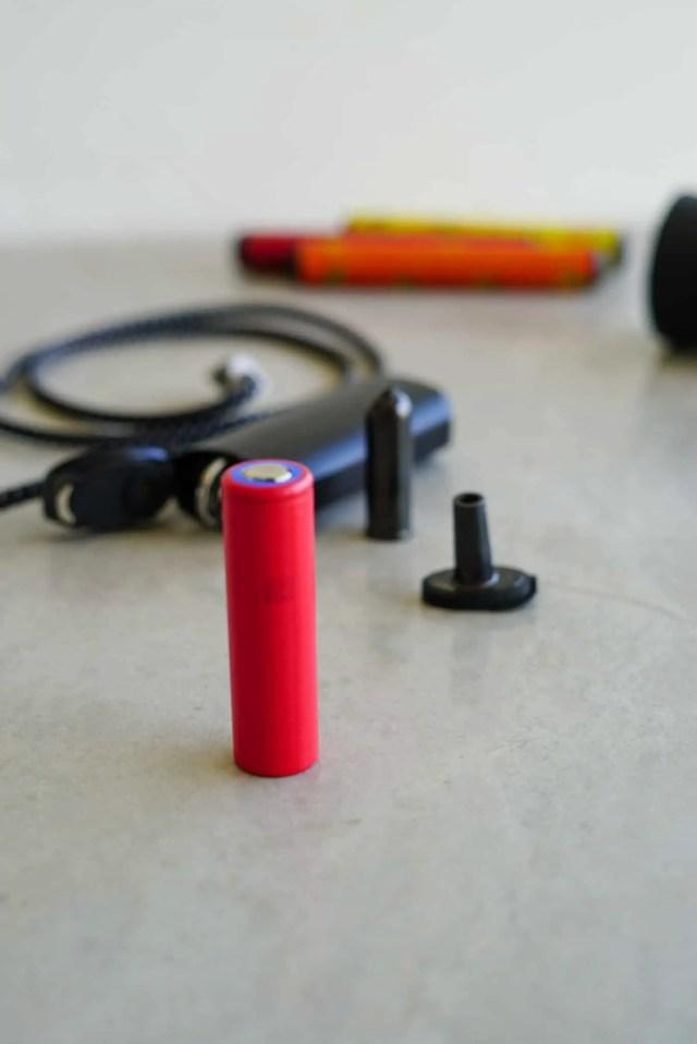 vaporizador de ervas da vinci iq bateria de reposição