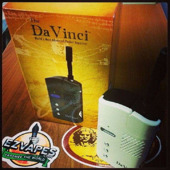 Last One! The discontinued white DaVinci Vape!