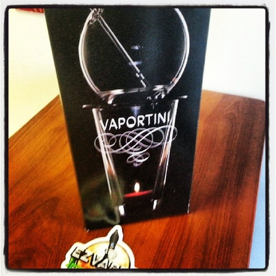 Vaportini: Vaporize Alcohol!