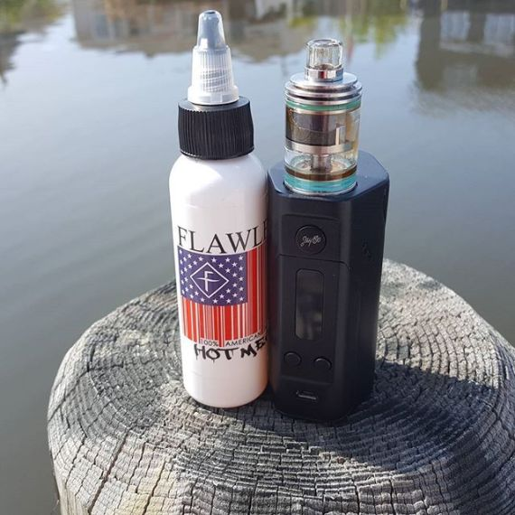 Wismec Reuleaux and Theorem with Flawless Hot Mess