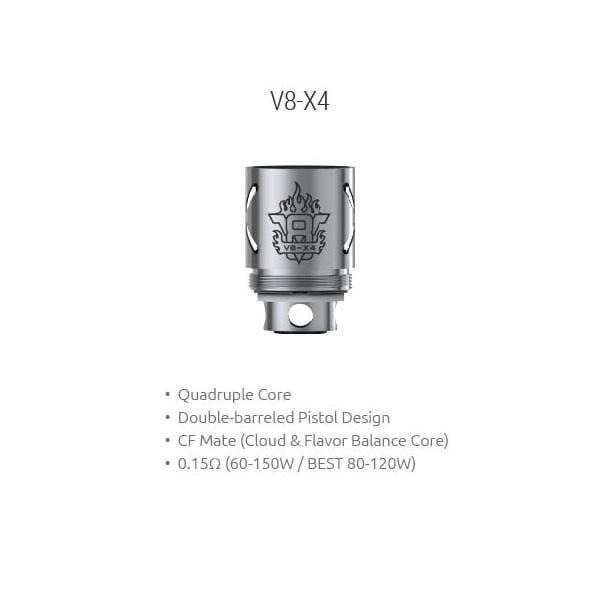 SMOK TFV8 Cloud Beast x4 Replacement Coils