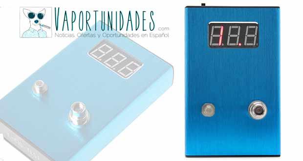 lector resitencias voltimetro fasttech azul