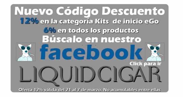 liquidcigar descuento kits inicio cigarrillos electronicos