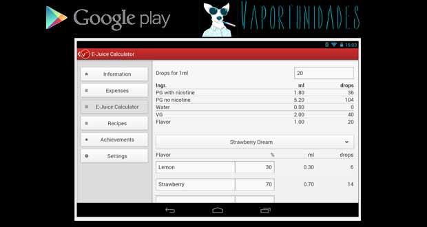 vape aplicacion android vapeadores vapeo