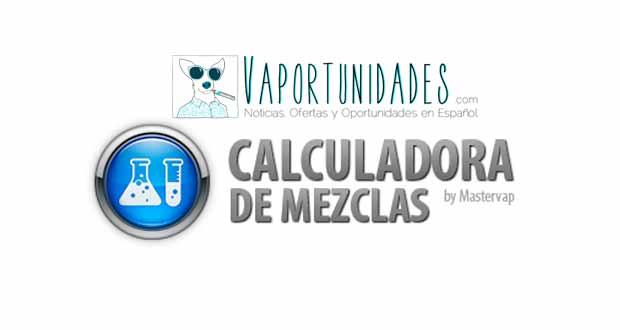 calculadora mezclas alquimia vapeo cigarrillos electronicos liquidos mastervap