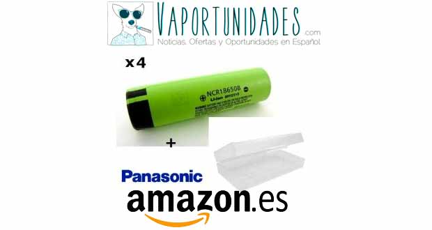 panasonic baterias NCR18650B amazon