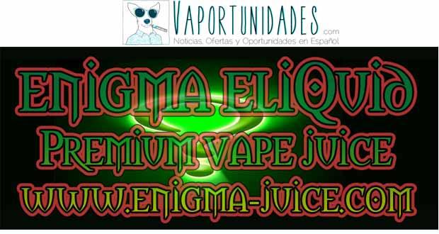 enigma juice liquid eliquid descuento matt