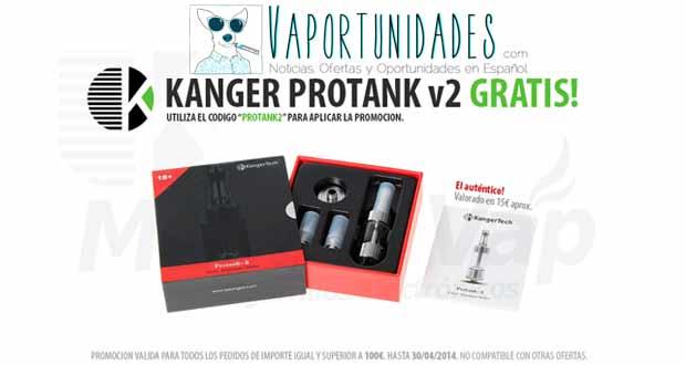 mastervap kanger protank 2 gratis