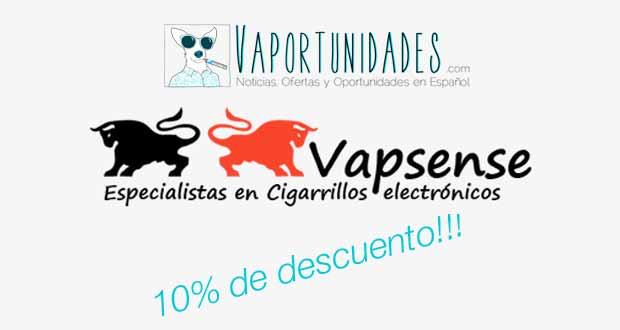 vapsense 10 desceunto tienda cigarrillos electronicos comprar